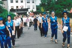 Frauenelferrat  bei der Jubiläumsfeier des Habacher Karnevalvereins (im Sommer)